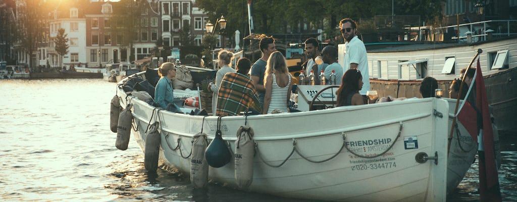 Luksusowy godzinny rejs po kanałach Amsterdamu