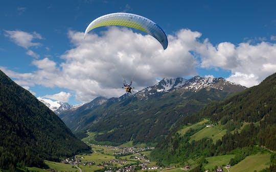 Tandem paragliding Innsbruck