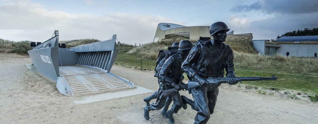 D-Day beaches private guided tour from Paris