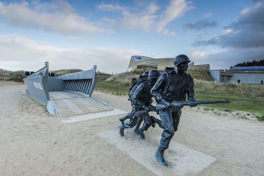 Tour guidato privato delle spiagge del D-Day da Parigi