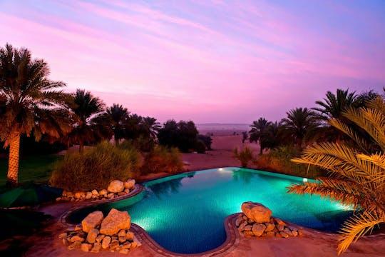 Pacote de dia na piscina Al Maha