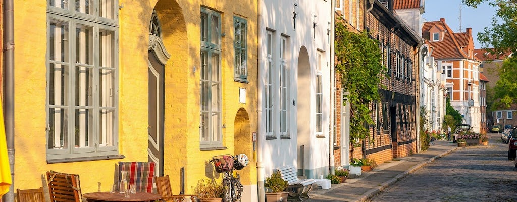 Townhouses and corridors private tour in Lübeck