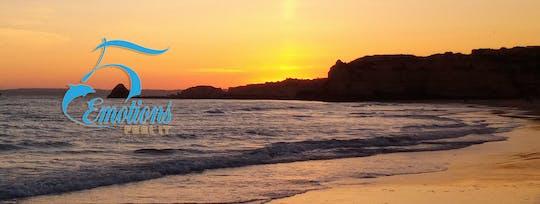 Wycieczka łodzią po Algarve o zachodzie słońca?