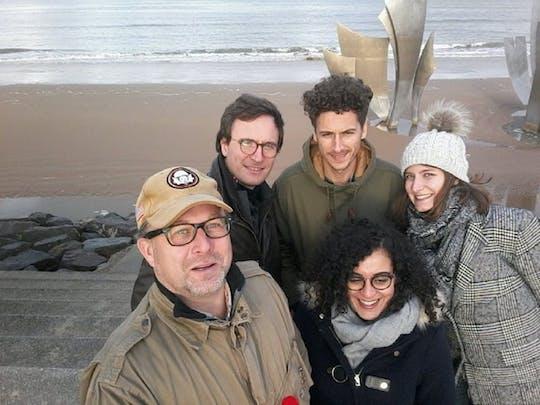 Passeio guiado pelas praias do Dia D saindo de Caen