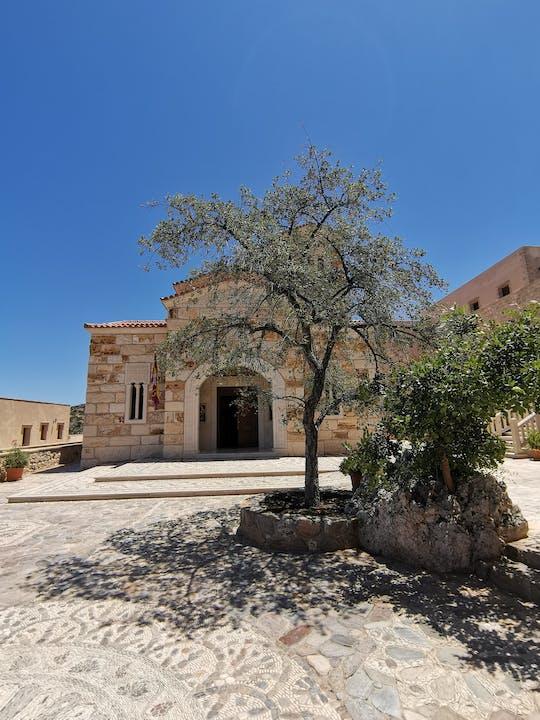 Visita guidata di Creta monastica con prelievo da Chania