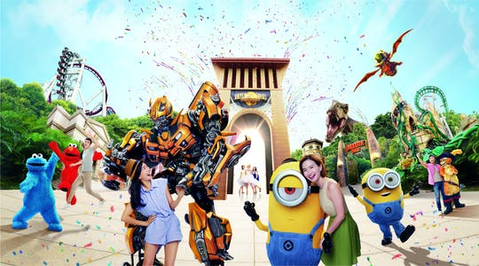 Pase estándar de Universal Studios Singapore