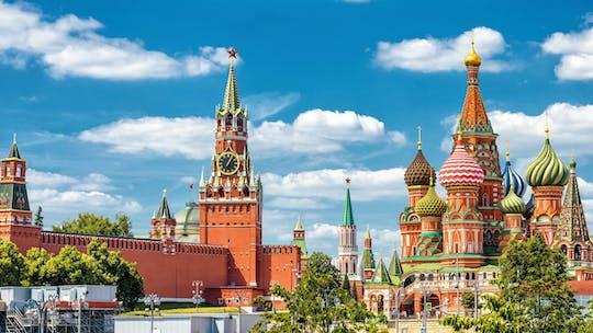 Moscú entre bastidores con entrada a la catedral de San Basilio