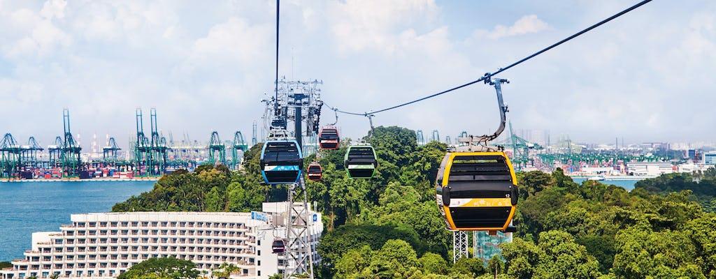 Билеты на канатную дорогу Сингапура по скайпассу