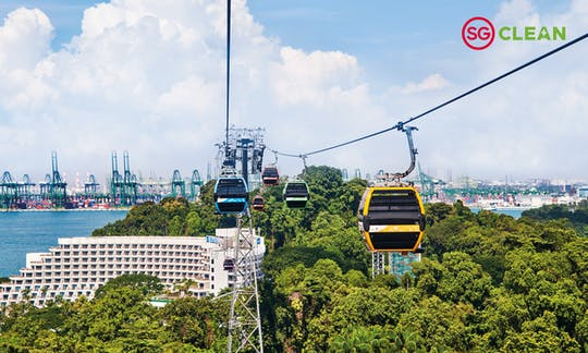 Singapore Cable Car Skypass tickets
