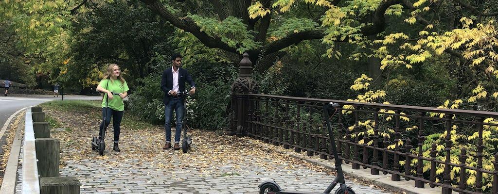 Central Park Electric Scooter Tour