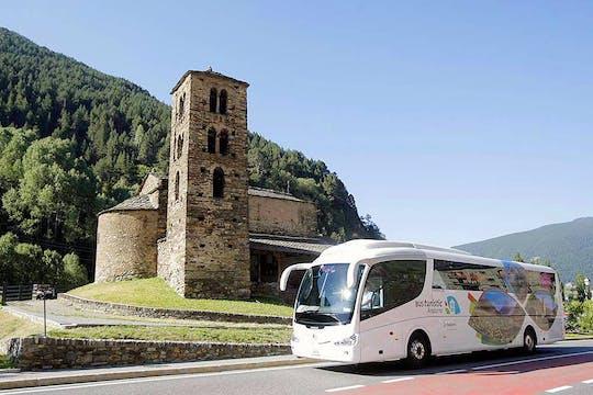 Bus touristique d'Andorre