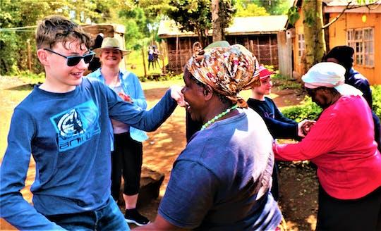 Kenyan grandma's pig farm tour from Nairobi