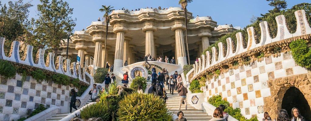 Sagrada Família e excursão bilíngüe ao Parque Güell