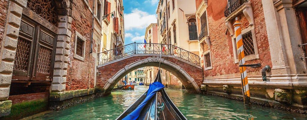 Rundgang und Gondelfahrt in Venedig