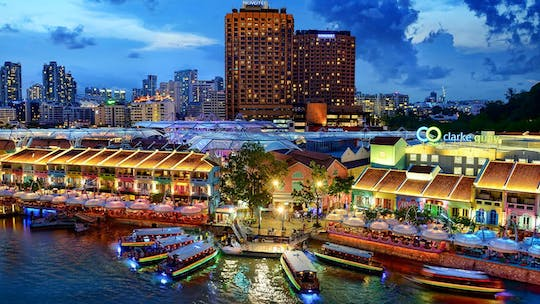 Singapore River Cruise admission tickets
