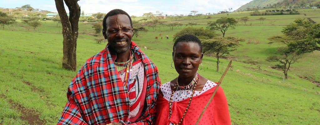 Tour de eco e cultura Maasai saindo de Nairóbi