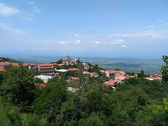 Excursion privée d'une journée à Kakheti avec visite de Sighnaghi au départ de Tbilissi