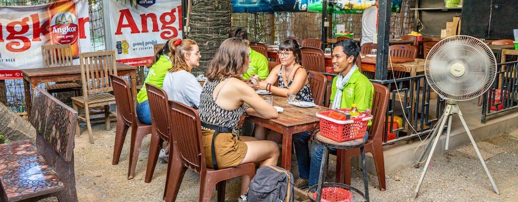 Tour gastronómico en Vespa en Siem Reap