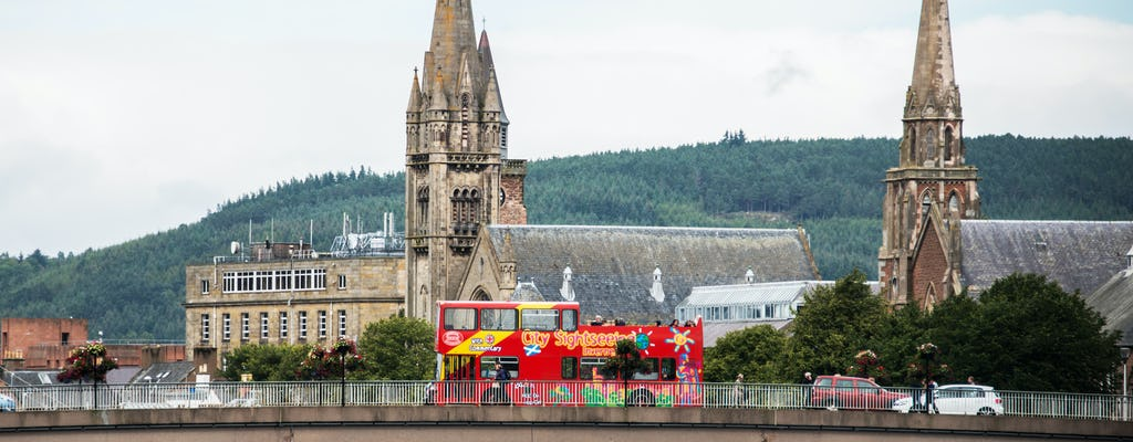 Tour in autobus hop-on hop-off City Sightseeing di Inverness