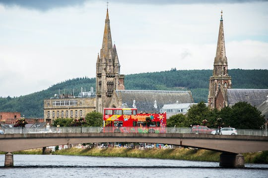 City Sightseeing hop-on hop-off bus tour of Inverness