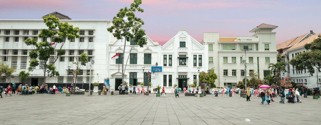 Jakarta History Museum entrance tickets with hotel pickup