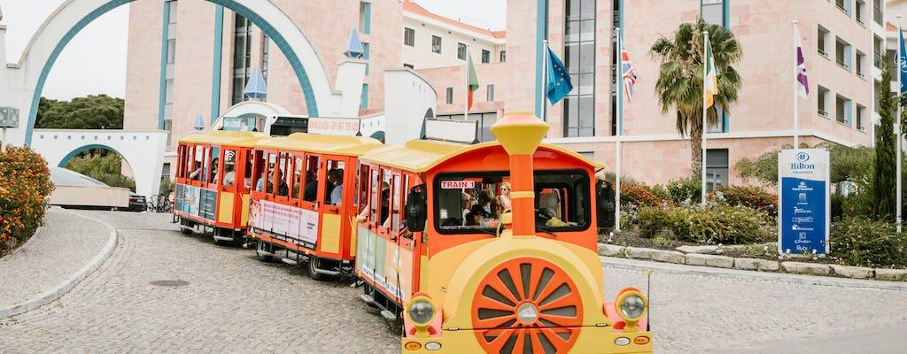 Tren turístico de Vilamoura con paradas libres