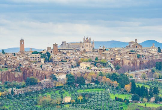 Private round trip from Florence to Rome with stop in Orvieto