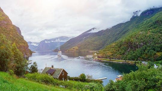 Wycieczka w obie strony bez przewodnika z Bergen do Sognefjord z kolejką Flam