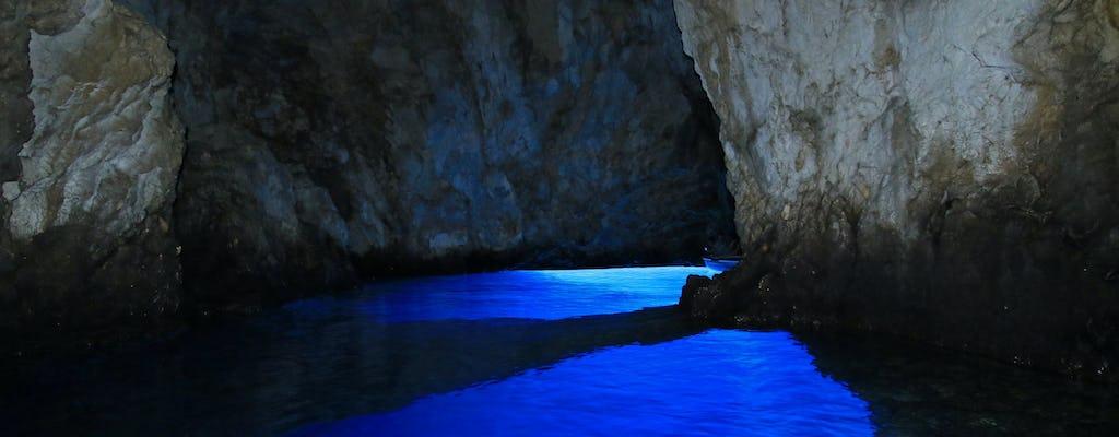 Privé speedboottocht naar Blue Cave en 5 Islands