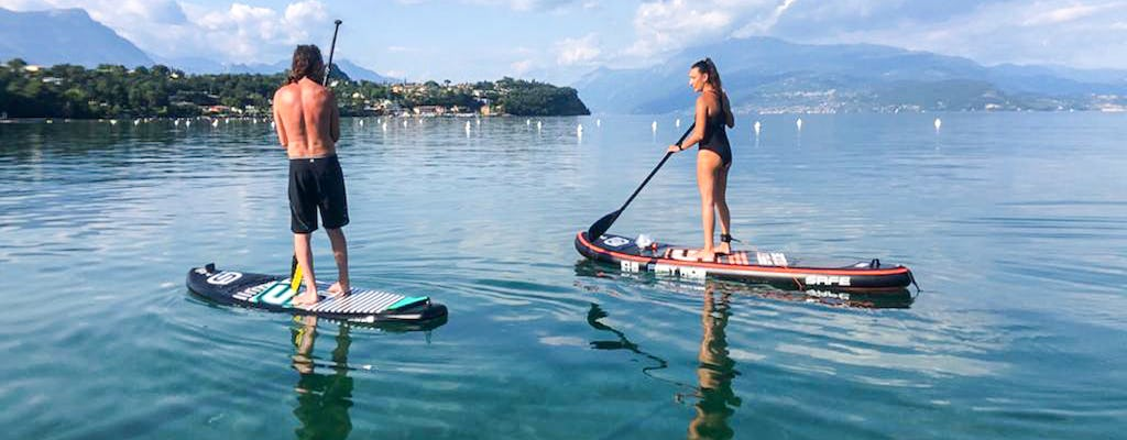 Stand up paddle board experience on Garda Lake
