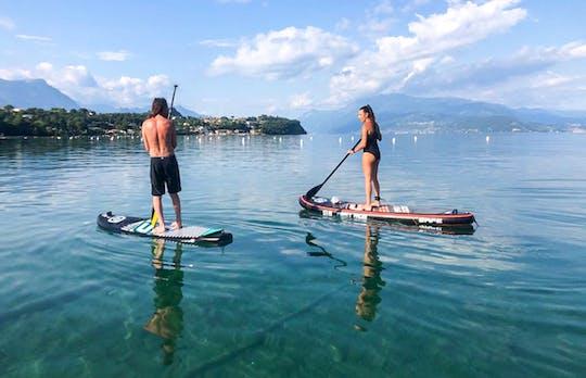 Experiencia de surf de remo en el lago de Garda