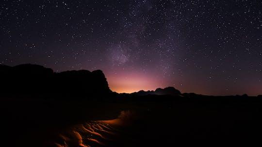 Stargazing adventure in Wadi Rum