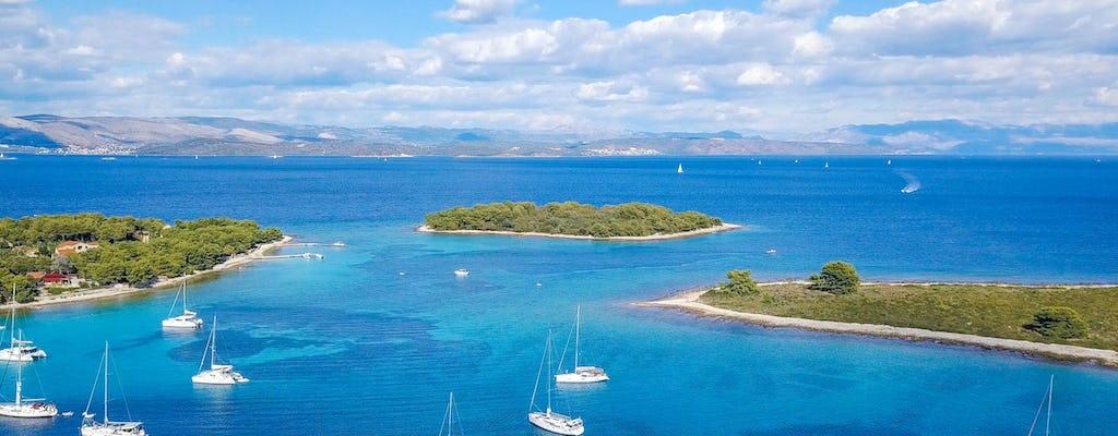 Ganztagestour zur Blauen Lagune & 3 Inseln von Trogir