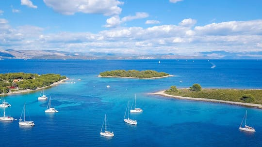 Full day tour to Blue Lagoon & 3 Islands from Trogir