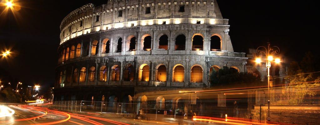 E-scooter night tour of Rome