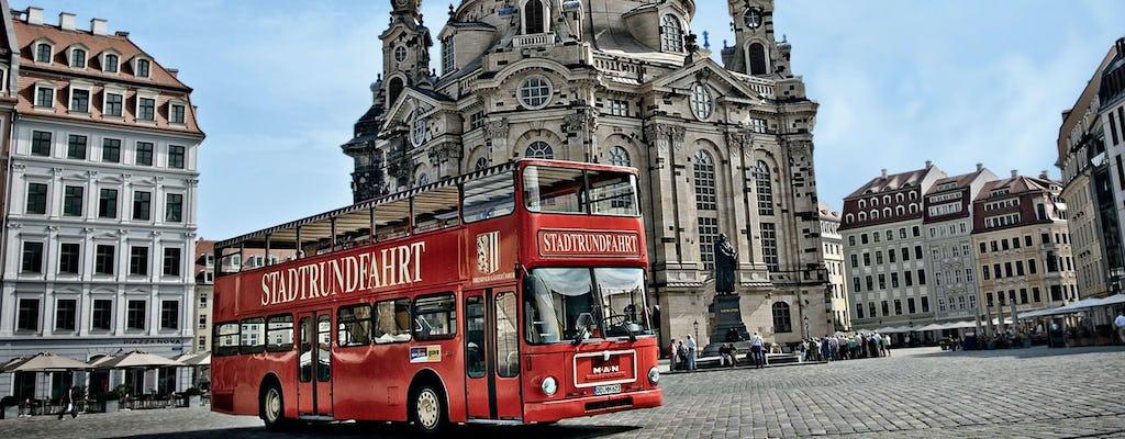 Gran recorrido en autobús por la ciudad de Dresde