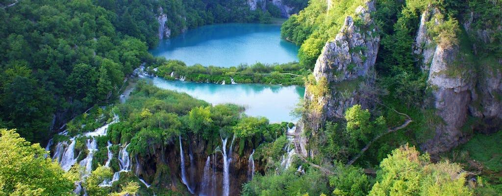 Tour vanuit Šibenik met geleid bezoek aan de Plitvicemeren