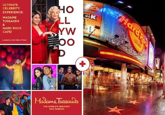 Ultimate celebrity experience Hollywood: Madame Tussauds + Hard Rock