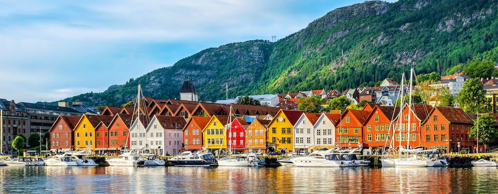 Wycieczka w obie strony z przewodnikiem z Bergen