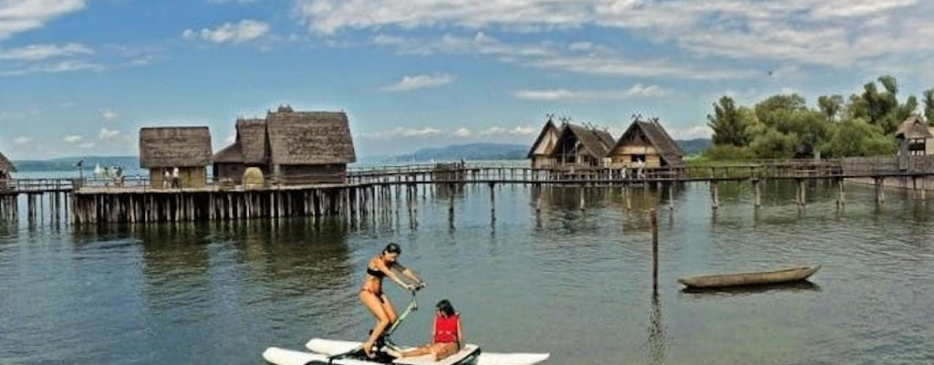 Water bike rental in Immenstaad at Lake Constance