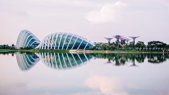 Cloud Forest and Flower Dome at Gardens By The Bay entrance tickets