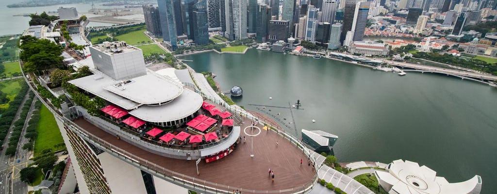 Ingressos para o deck de observação do Marina Bay Sands SkyPark