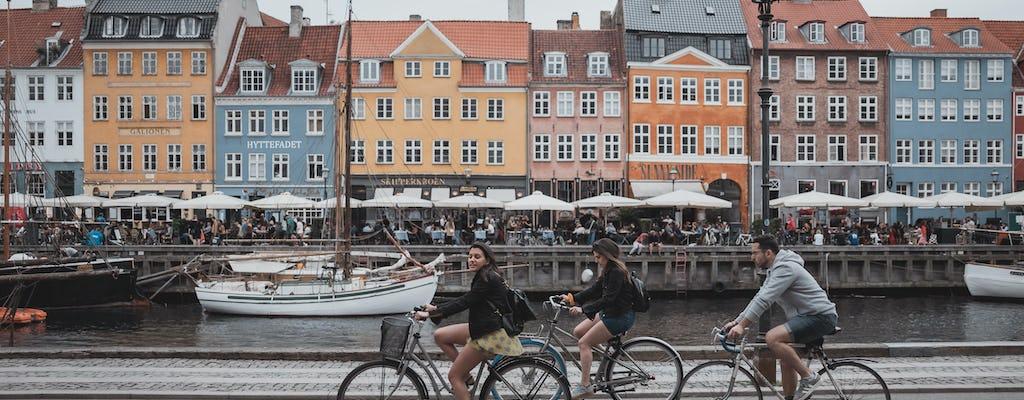 Passeio particular de bicicleta de 3 horas em Copenhague