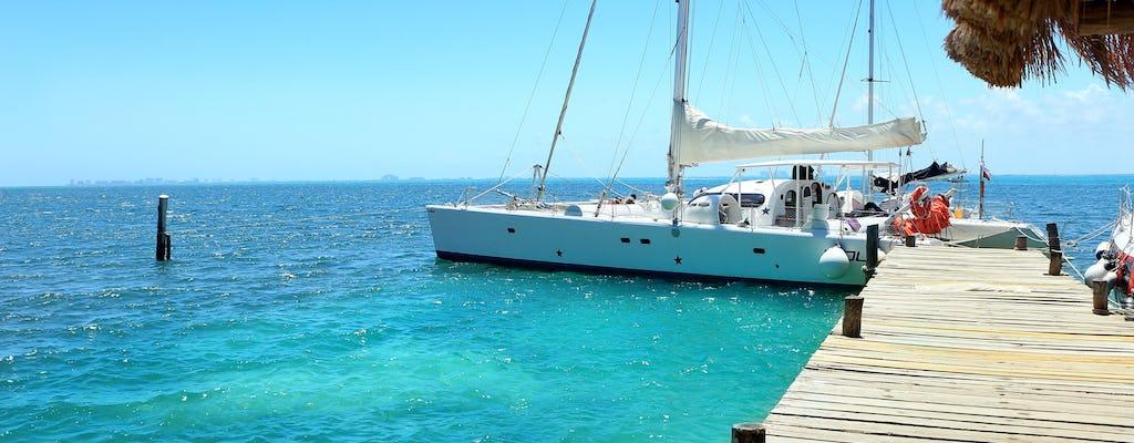 Catamarán Isla Mujeres desde Cancún sin transporte