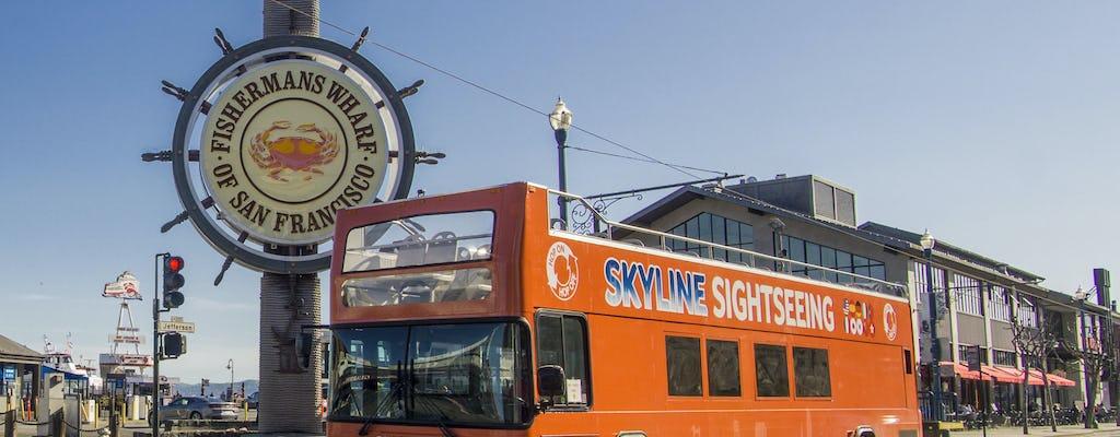 Круиз по заливу и 24-часовой автобусный тур по Сан-Франциско