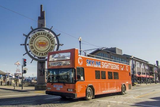 Rejs po zatoce i całodobowa wycieczka autobusem hop-on hop-off po San Francisco