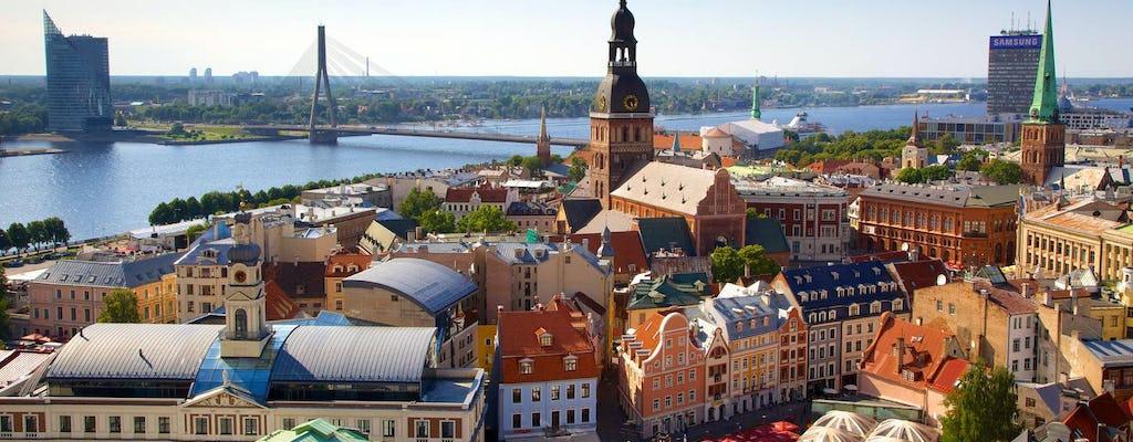 Chasse au trésor dans la vieille ville de Riga avec votre téléphone
