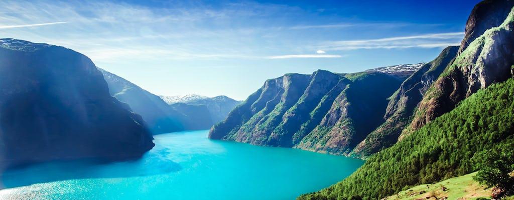 Selbstgeführte Reise von Bergen nach Oslo inklusive Flåmbahn und Sognefjord