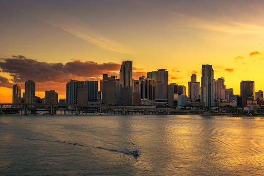 Miami Happy Hour zwiedzanie rejsu o zachodzie słońca