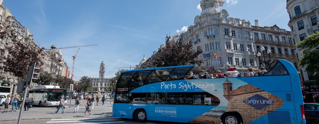 Excursão de ônibus 24 horas hop-on hop-off no Porto